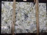 Losa de mármol verde de hielo para la cocina, cuarto de baño/Piso/pared