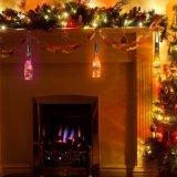 [30لدس] [وين بوتّل] فلّين خيم ضوء لأنّ عيد ميلاد المسيح/عرس/زخرفة بينيّة