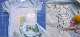 Interconexión de papel de la impregnación de la película de la agua fría del forro PVA del bordado que interlinea
