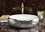 Санитарные продовольственный табличка искусства фарфора раковина для гостевой (C1195A)