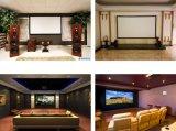 Großhandels16:9 des silbernen Bildschirms 3D örtlich festgelegter Rahmen-Projektor-Bildschirm für Haus