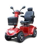 Scooter handicapé Handicapped électrique lourd de mobilité de route en travers