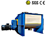 Mezclador de cinta horizontal mezclador mezclador de cizallamiento de arado de polvo de forma de V mezcladores para mezcla en polvo