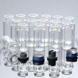 Bouteille tubulaire inférieure d'injection en verre de Borosilicate (7ml)