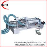 Cabezas dobles semiautomático Botella de agua mineral de la máquina de llenado de líquido