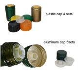 Frasco de petróleo verde-oliva da manufatura 1L Marasca com tampão de alumínio