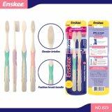 Toothbrush adulto com as cerdas macias elásticas super 2 em 1 bloco 823 da economia