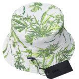 Chapéu da cubeta do poliéster do chapéu de Fishierman com logotipo do costume da cópia