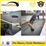Procirlce PU Leather Natural Rubber Exercise Mat