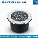 Illuminazione sotterranea esterna dell'indicatore luminoso 6W IP65 LED del pavimento del LED
