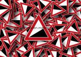 Feuille acrylique polychrome de mousse de PVC de panneau de mur de devise d'impression