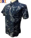 Impresso Chambray Shirt para homens