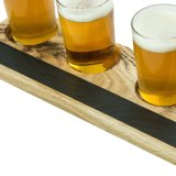 Handmade Flight Paddle for Beer Serving