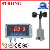 Sensor de la velocidad del viento del anemómetro