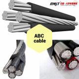 AAC ACSR AAAC Conductor aislamiento XLPE Antena de techo Cable Paquete