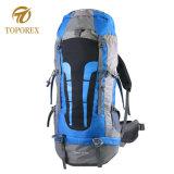 Cores de contraste Trekking mochilas Sala Sala Bag Caminhadas Backpack