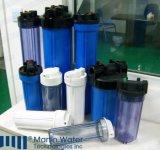 """Beste Wahl 10 """" 20 Zoll-grosses Blau Belüftung-Wasser-Filtereinsatz-Gehäuse"""