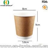 Desechables de Hefei café caliente vaso de papel