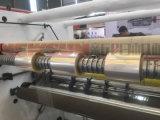 2018 etiqueta adhesiva de la máquina de corte longitudinal con diseño más reciente el exceso de velocidad alta