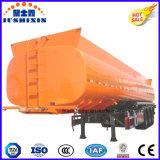 Tri-Axle en acier au carbone du réservoir de carburant/essence remorque 40, 000L