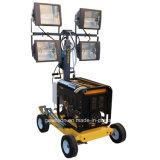 heller Aufsatz des Dieselgenerator-4*400W mit vier Rädern