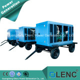 25 kVA-63kVA Cummins Trailer & insonorisé groupe électrogène diesel (matériel militaire chinois)