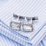 VAGULAの人の宝石類の高品質の白い水晶フランスのワイシャツのカフスボタン516