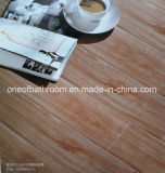 Telha cerâmica do projeto de madeira rústico para a decoração do assoalho/parede
