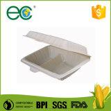L'amido di granturco biodegradabile elimina ad alimenti a rapida preparazione la casella di pranzo/copertura superiore a gettare uniche