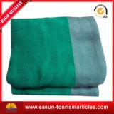 安い綿のニットの赤ん坊毛布の中国安い航空会社毛布