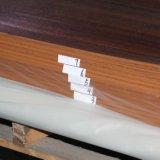 El grano de madera de cerezo melamina muebles decorativos de papel (8173)
