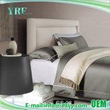 4PCS Custom роскошных обычный серый постельные принадлежности