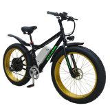熱い販売26inch強力なモーター山の脂肪質のタイヤの電気バイク