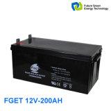 12V 200ah tiefes Schleife-Gel-Leitungskabel-saure Speicherbatterie für Solar