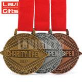 Поощрения бесплатные образцы металлических Новой Зеландии на коньках медаль Custom