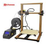 3D van de de uitrustings ZelfAssemblage van de Printers van Prusa I3 DIY van de Printer 3D LCD van het Frame van het Metaal ABS PLA van de Vertoning gloeidraad 1.75mm