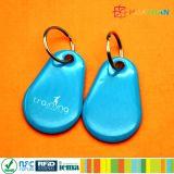 etiqueta de epoxy del PVC NTAG215 NFC de 13.56MHz RFID para el supermercado