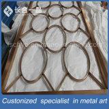区分スクリーンのRoonの装飾的なディバイダを折る現代デザインステンレス鋼