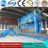 Máquina de dobra hidráulica da placa de aço de Wc67y