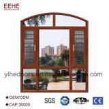 Portes en aluminium Windows de première vente pour l'appartement et la villa
