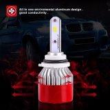 linterna automotora de alta velocidad C6 de las bombillas 12V 24V 9005 LED del ventilador Hb4 LED de 25W LED