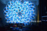 2018 Novo Produto DJ luz LED 350W 3NO1 movendo o farol dianteiro