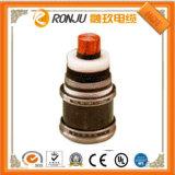 Conduttore ignifugo e di rame, isolamento di XLPE, PVC inguainato, schermo del filo di acciaio/armatura, singolo cavo elettrico di memoria