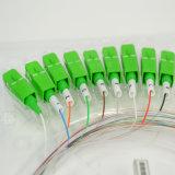 Sc/APCのコネクターが付いているFTTH 1X8の光ファイバPLCのディバイダー