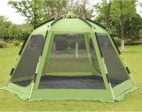 6-8人のテント、屋外の六角形の伸張のアルミニウムポーランド人のキャンプテント
