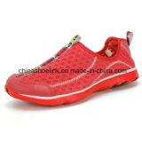 普及した多彩な女性および人の実行のスポーツのストリームの移住の靴