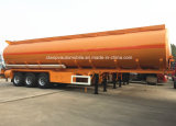 3つの車軸はタンクトラックのトレーラー45000Lの燃料のタンカーのトレーラーを半カスタマイズした