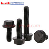 Quadrilateral DIN Flange Head Cape SDS Screw