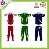 Ropa deportiva sublimación traje de Jogging equipo personalizado de Cricket Logo impreso Jersey