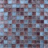 Sh104 300X300mm Glas-Mosaik-Fliese der Farben-Mischungs-Goldfolien-Stärken-8mm